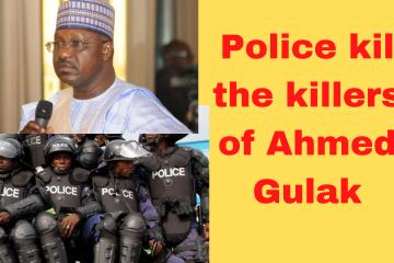 Ahmed Gulak killers killed by police